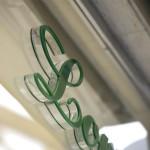 Lettere in plexiglass 20 mm + 3 mm